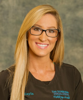 Kayla who is the Dental Assistant at Silberman Dental Group